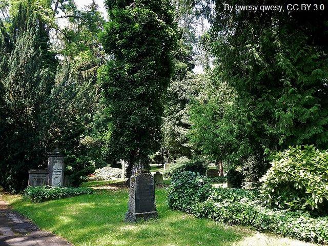 Grabsteine in Sindelfingen Friedhof
