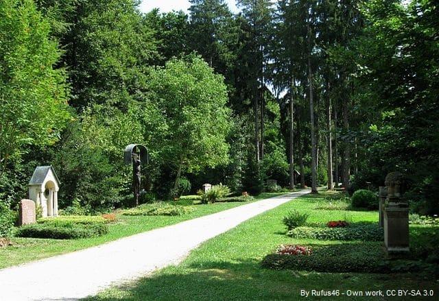 Friedhöfe in München mit Grabsteinen
