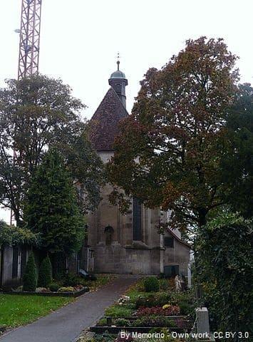 Grabsteine in Schwäbisch Gmünd Leonhardskirche