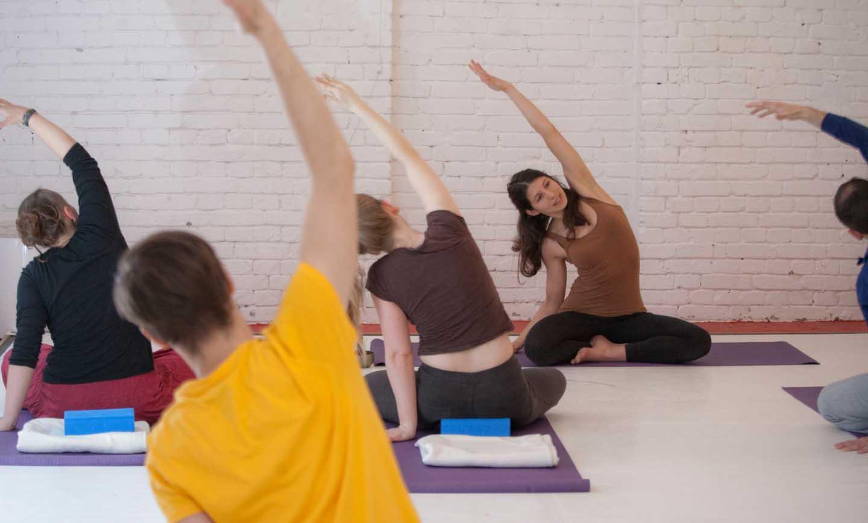 Yogakurs im Unternehmen