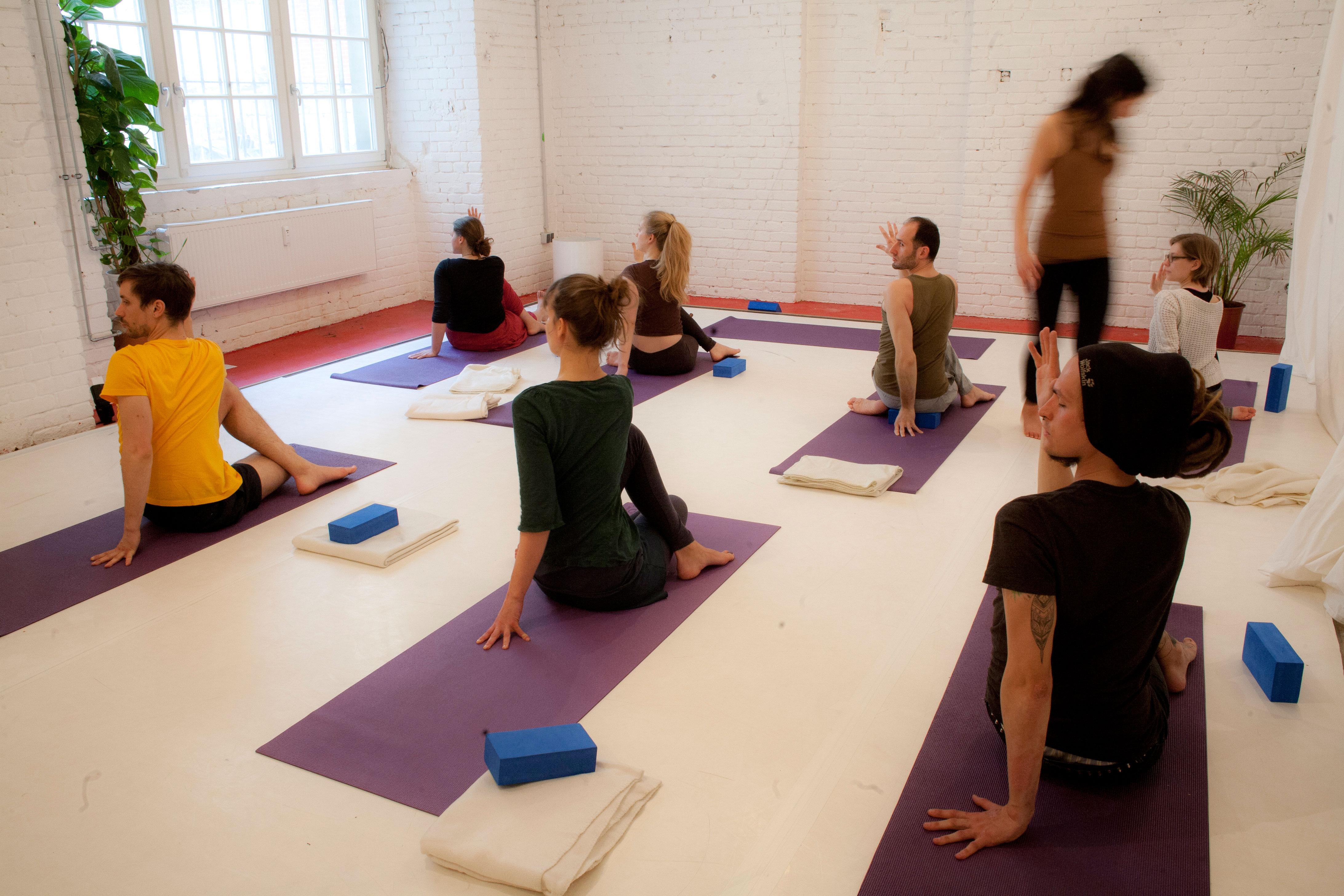 Hatha-Yogaklasse