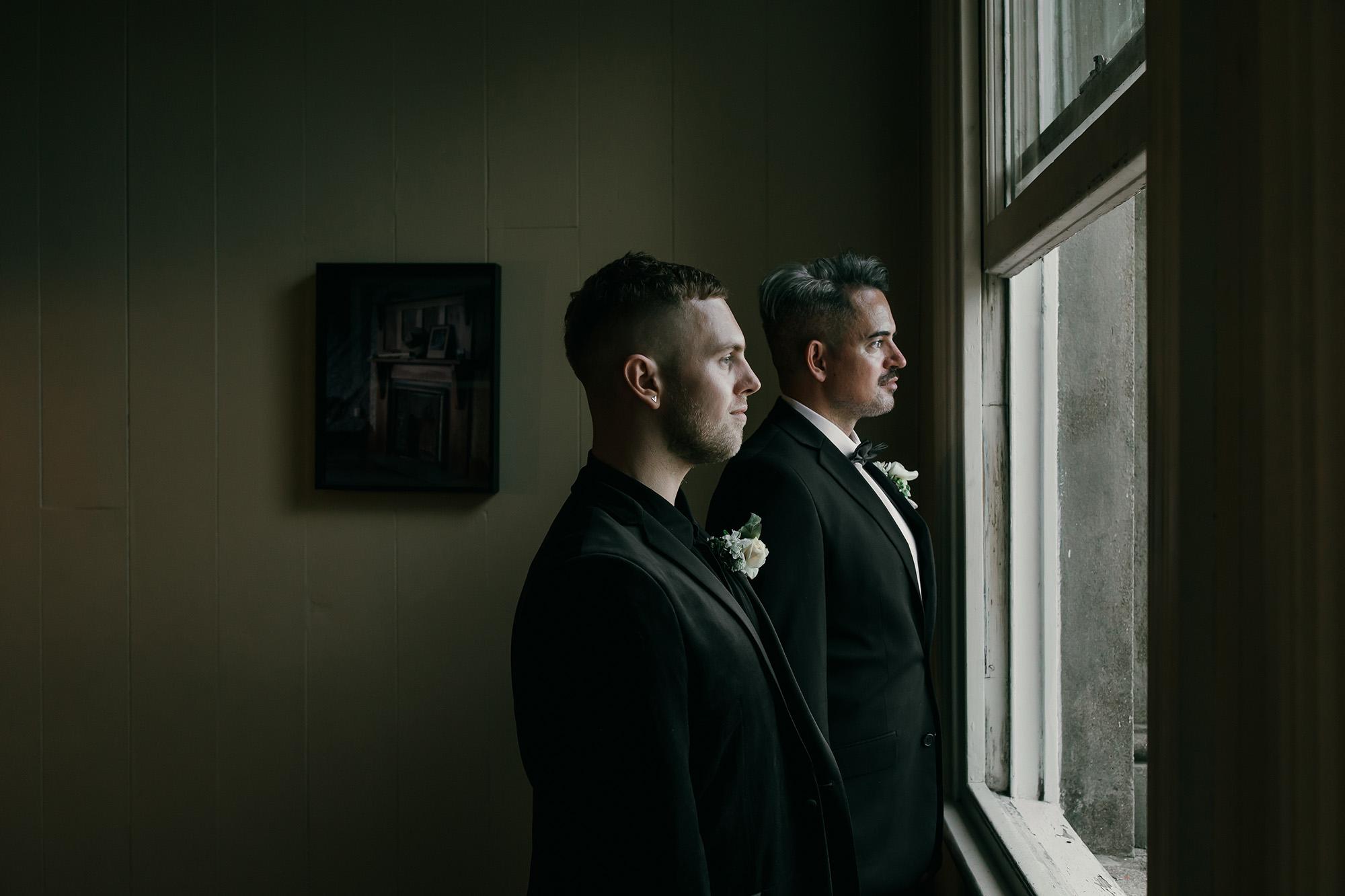 Kurtis and Geremy's Chapel Wedding.