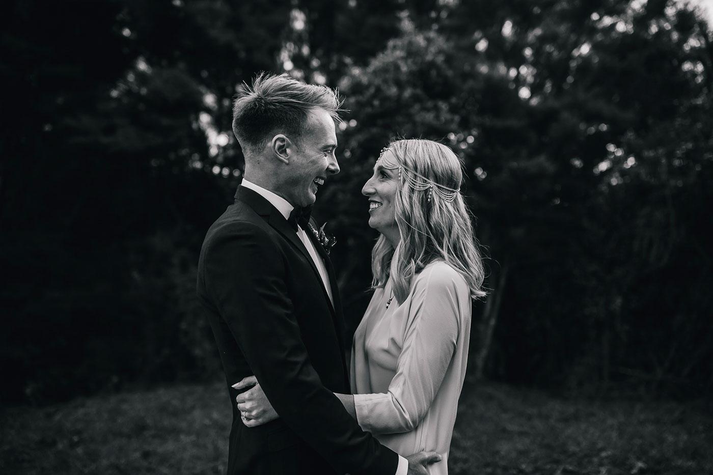 Nicole and Jethro's Auckland wedding.