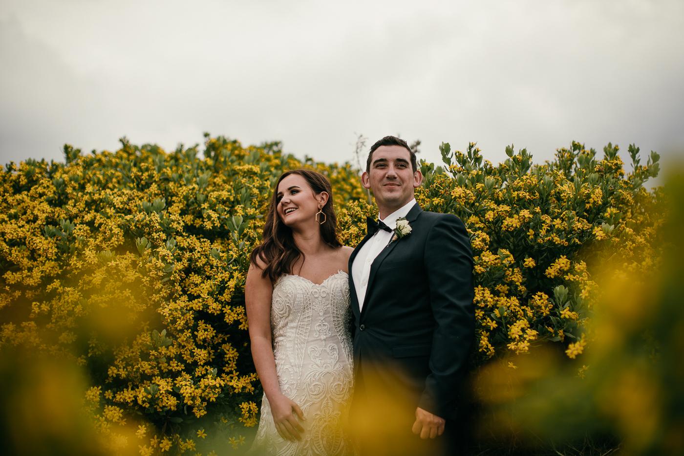 Tracey and Michael's Waiheke wedding.