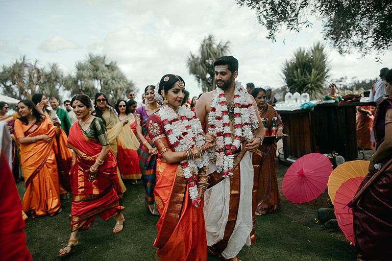 Malika and Karthik's Indian Wedding.
