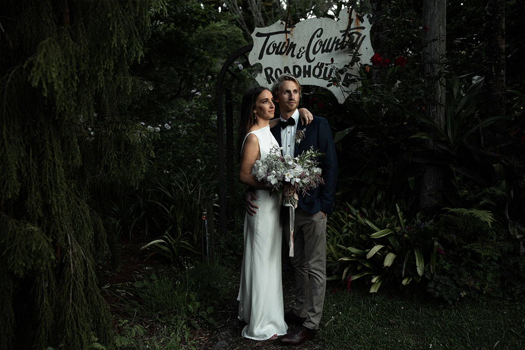 Molly & Mark's Glasshouse Wedding