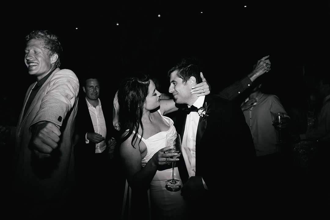 Sophie and Suneil's  Mudbrick wedding.