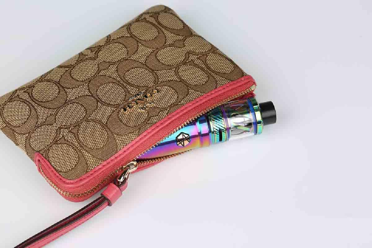 sigaretta elettronica con borsello
