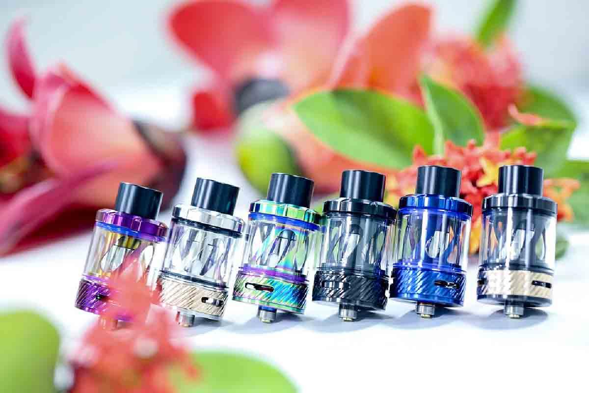 aromi per sigarette elettroniche in primo piano