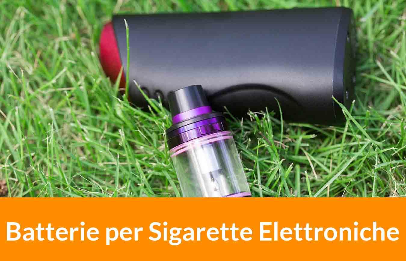 una batteria per sigaretta elettronica