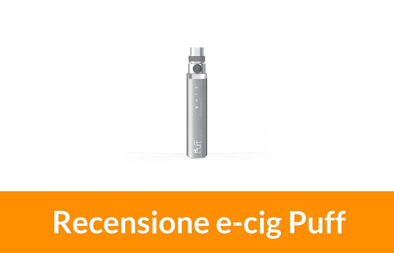 una sigaretta elettronica Puff