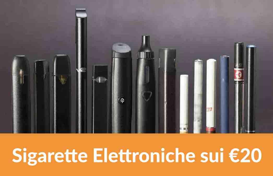 sigarette elettroniche da 20 €