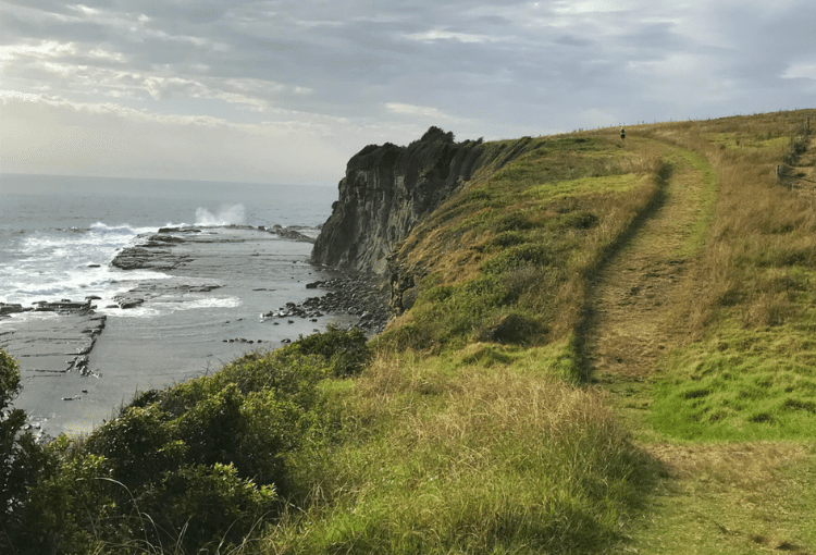 Trail Running Kiama to Gerringong