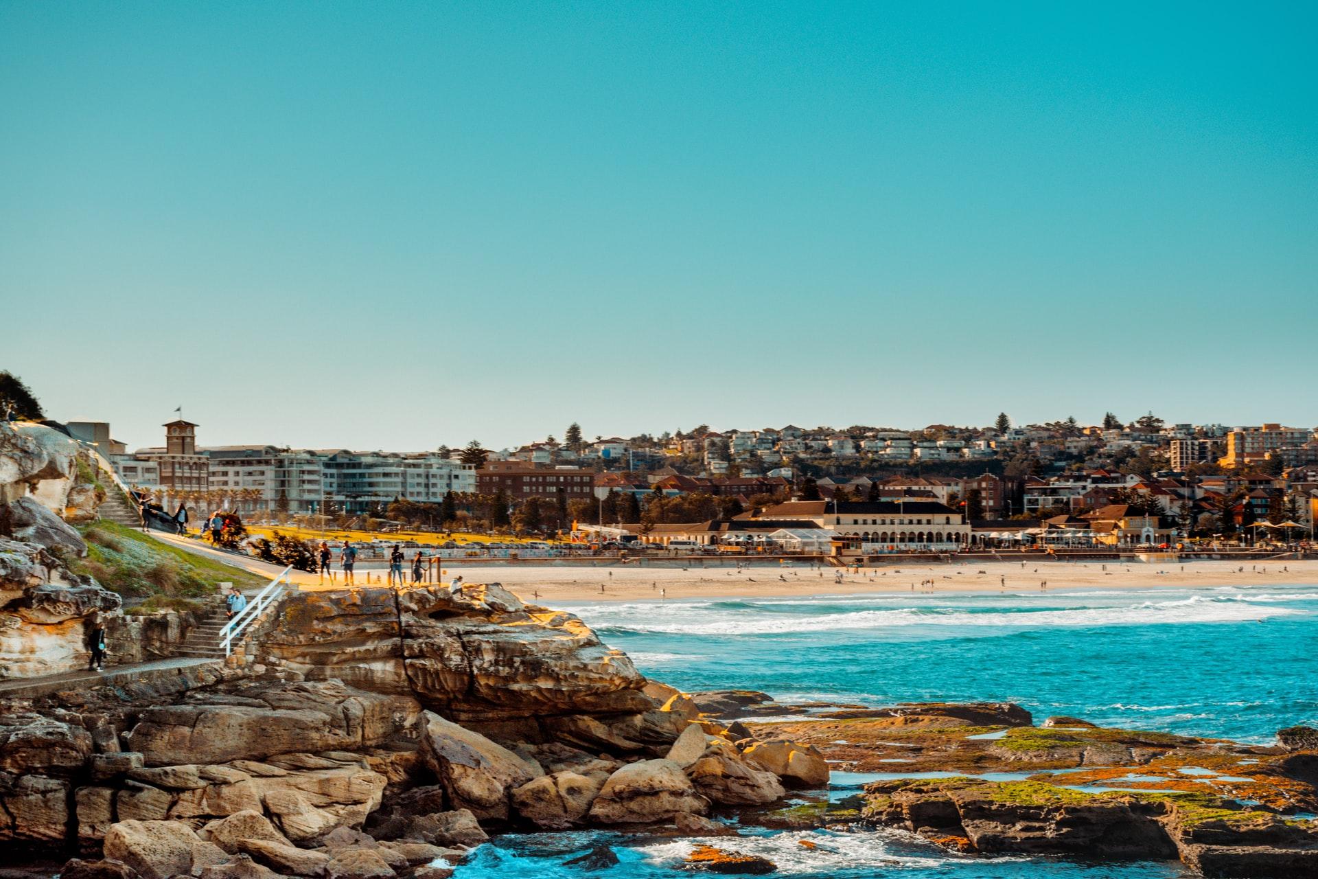 Great runs in Sydney Australia - Bondi to Coogee Path