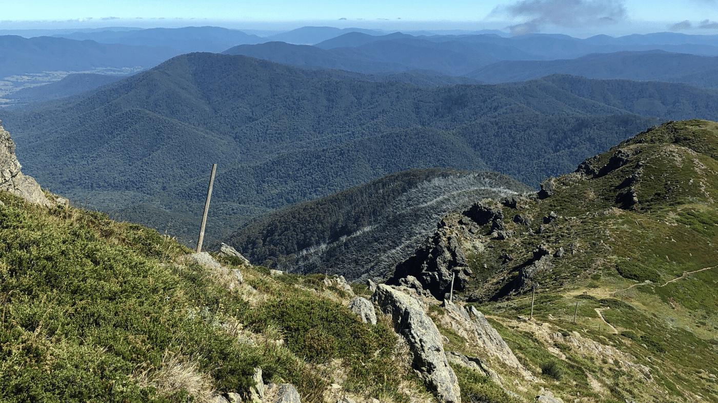Bright Victoria Trail Map Guides RunHunters