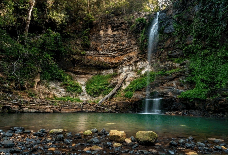 Trails for Sydney Waterfalls on Capra