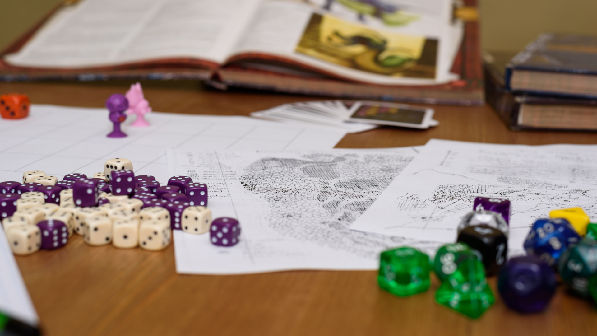 Role Playing Games Area