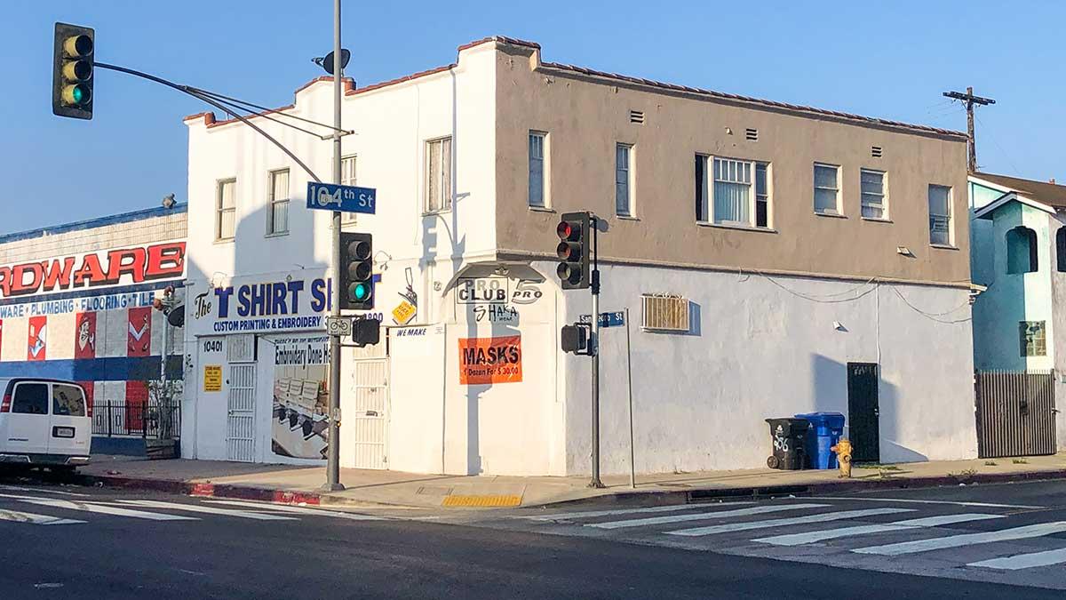 10401 S. San Pedro Street