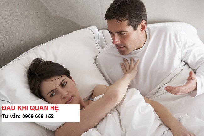 Đau khi quan hệ