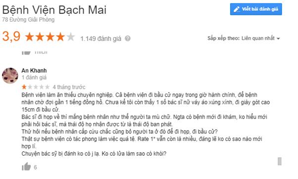 Review khám phụ khoa ở Bạch Mai