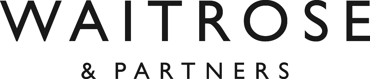 Black Waitrose & Partners logo