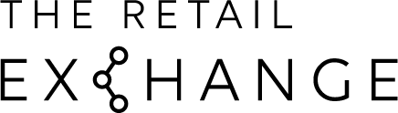 Black The Retail Exchange logo