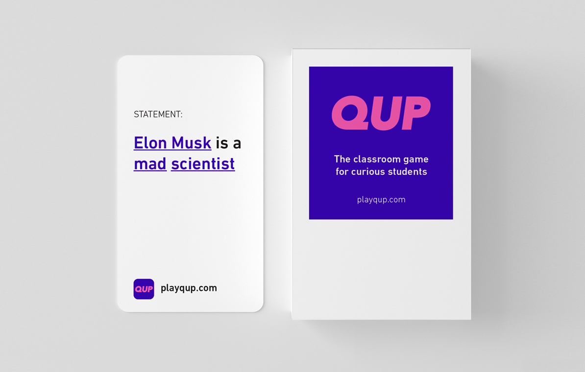 QUP Card Game