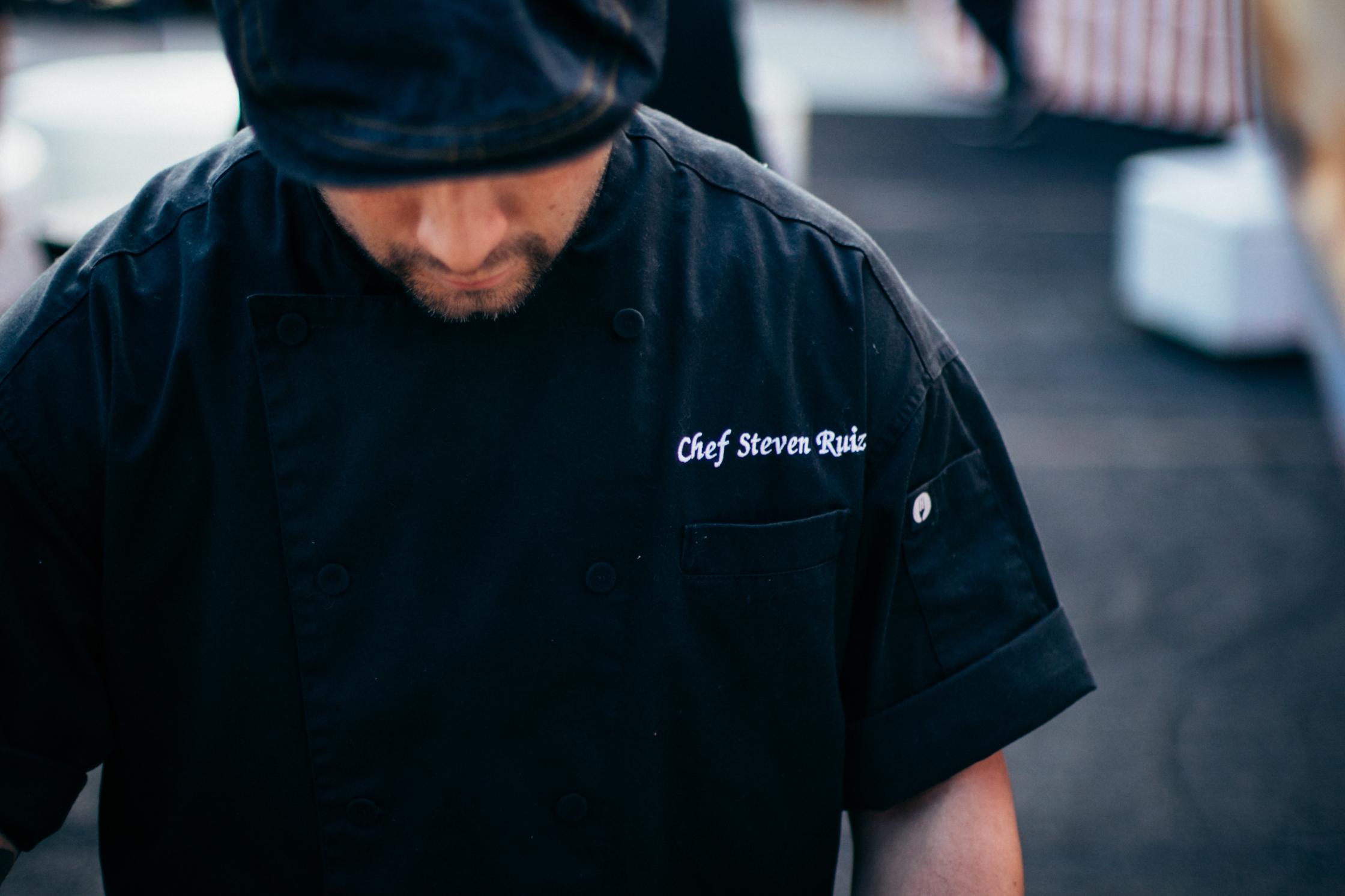 Our Chef Steven Ruiz