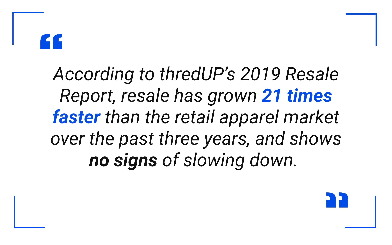 thredUP 2019 Resale Report