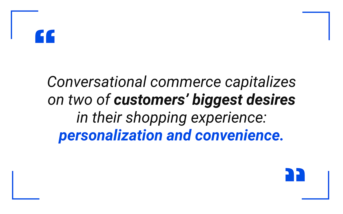 Personalization and convenience