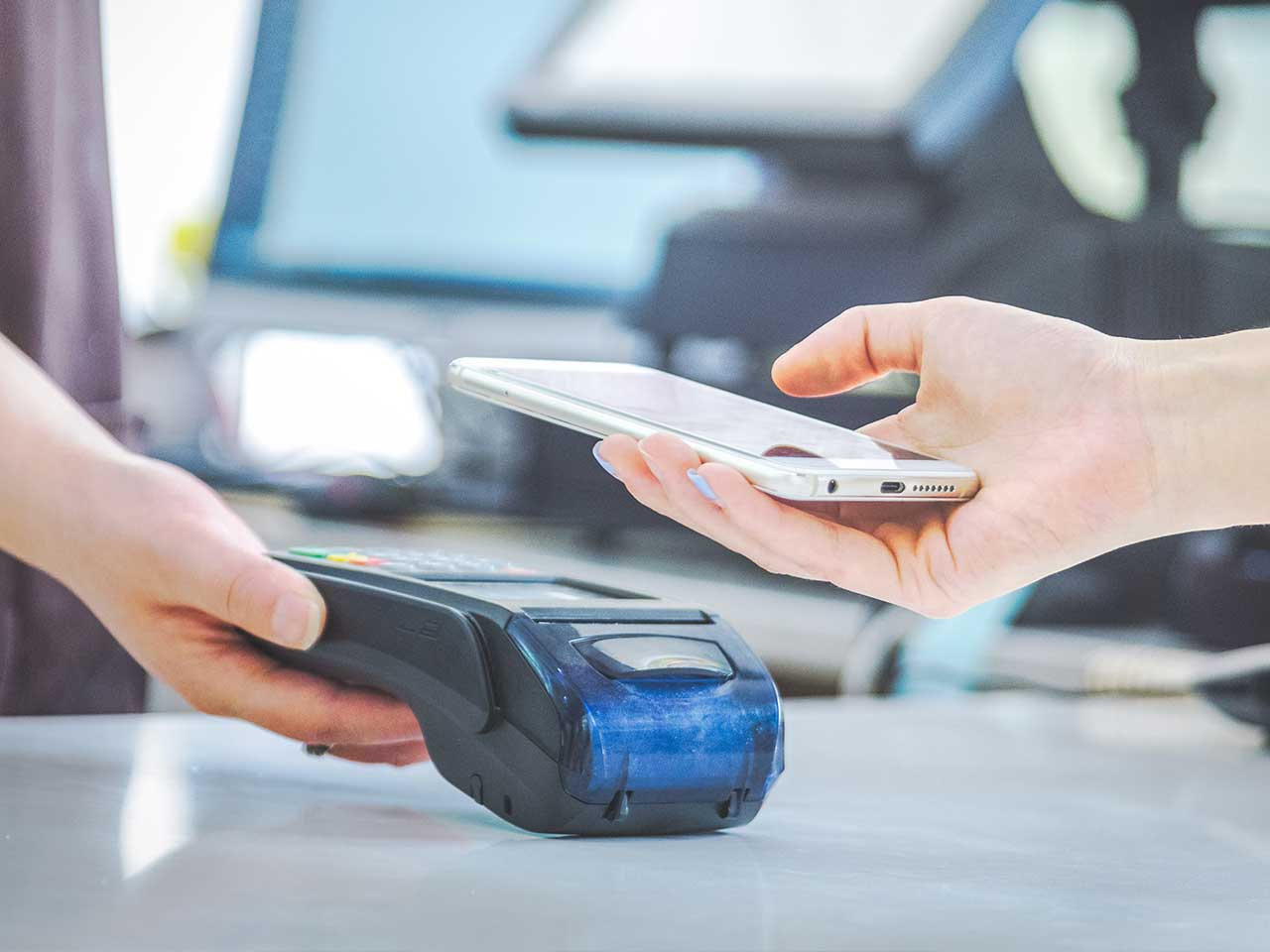 using mobile phone for payment