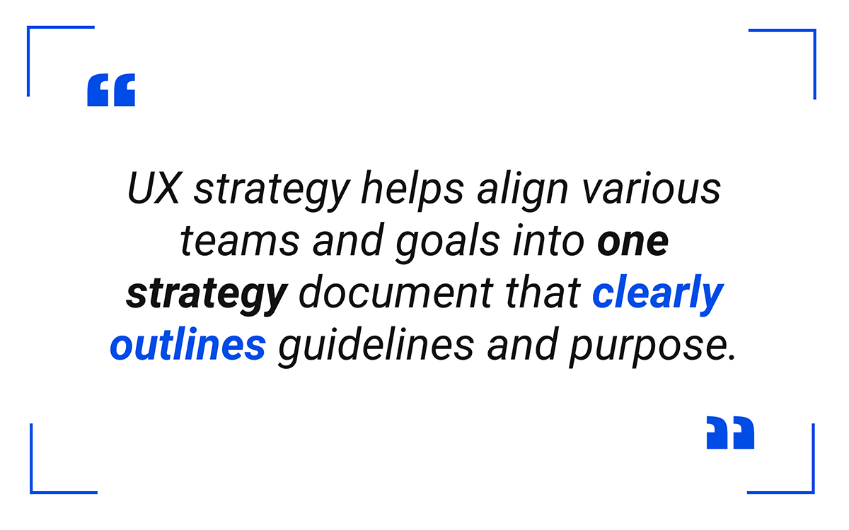 one strategy document