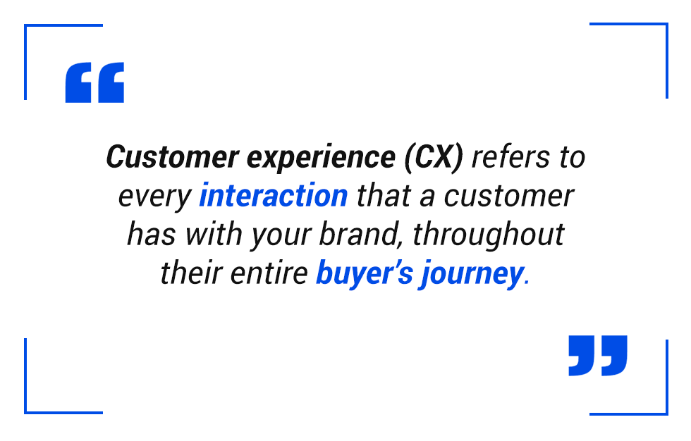 CX Strategy - Quote