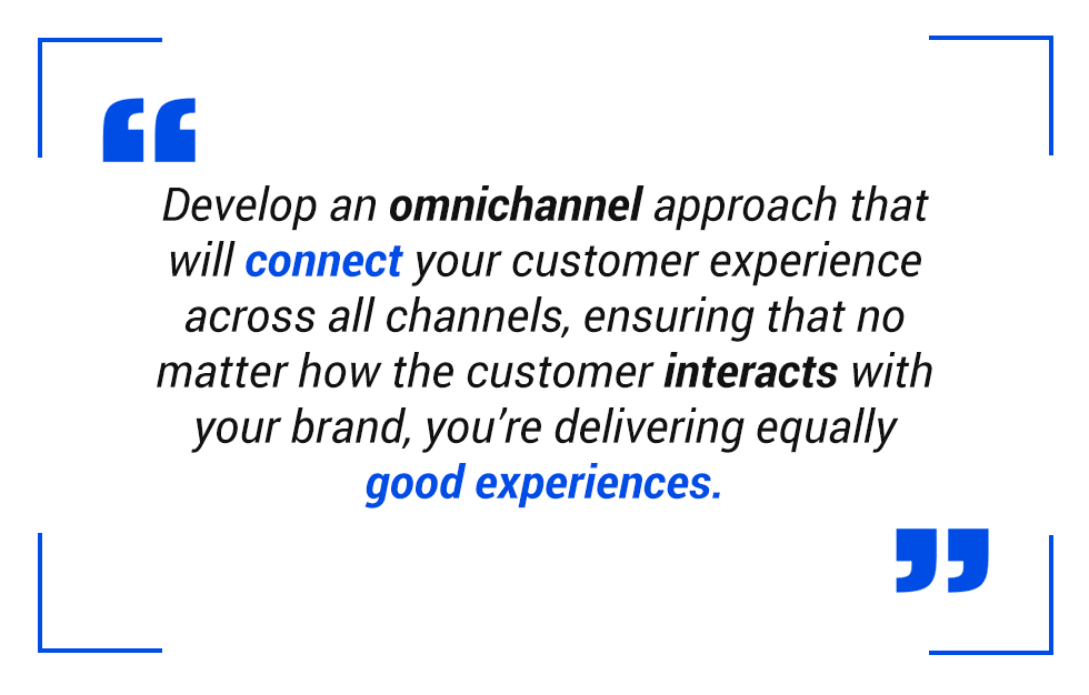 Pull quote: Omnichannel approach