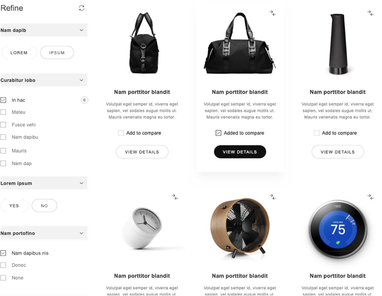 Design Templates - Website Mockup