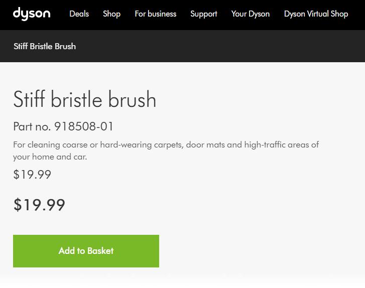 stiff brush product