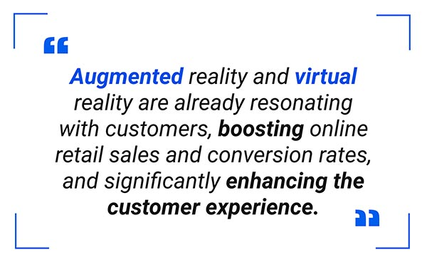 Augmented reality eCommerce Quote