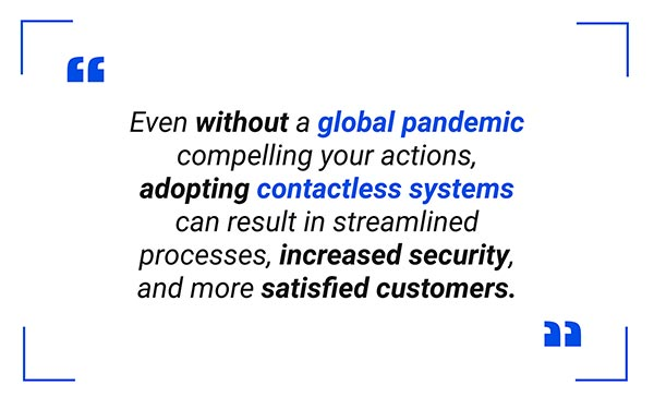 Contactless Business Systems Quote