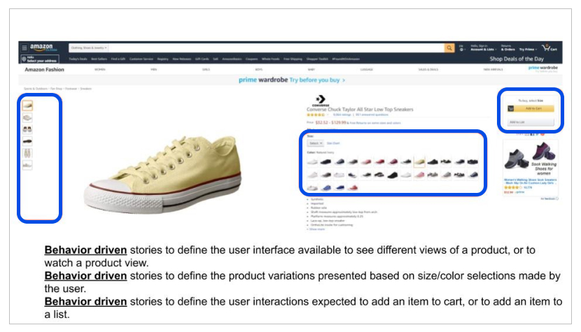 screenshot of shoes product page 5