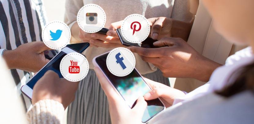 Identify social platforms graphic