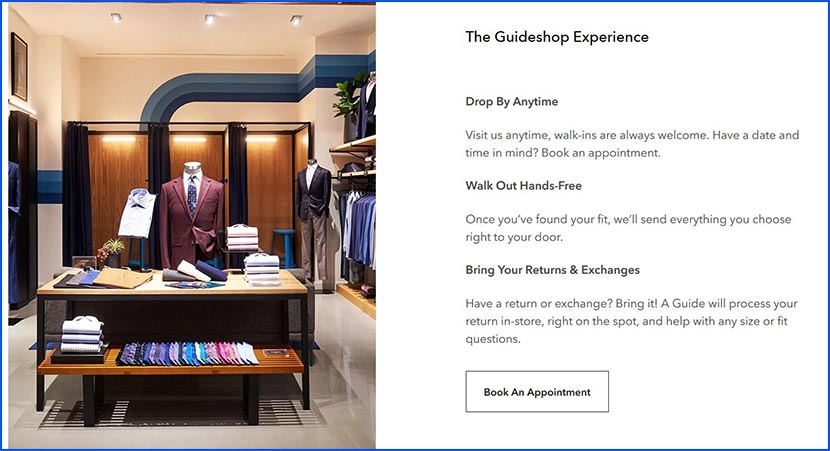 the guideshop experience
