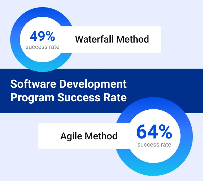 Software Development Program Success Rate graphic