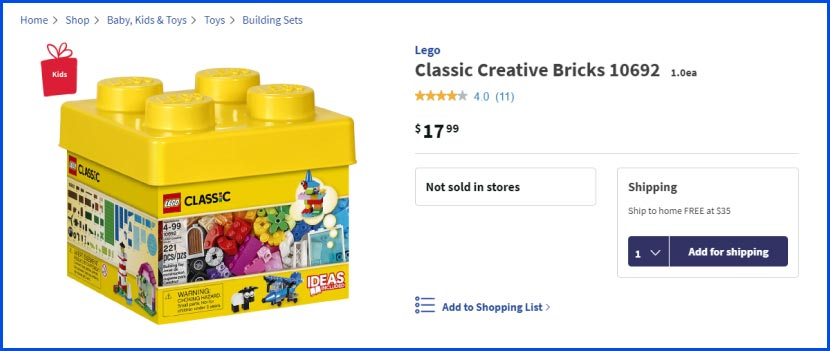 children toys classic creative bricks-product page