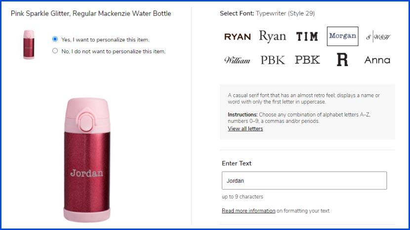 mackenzie watter bottle screenshot
