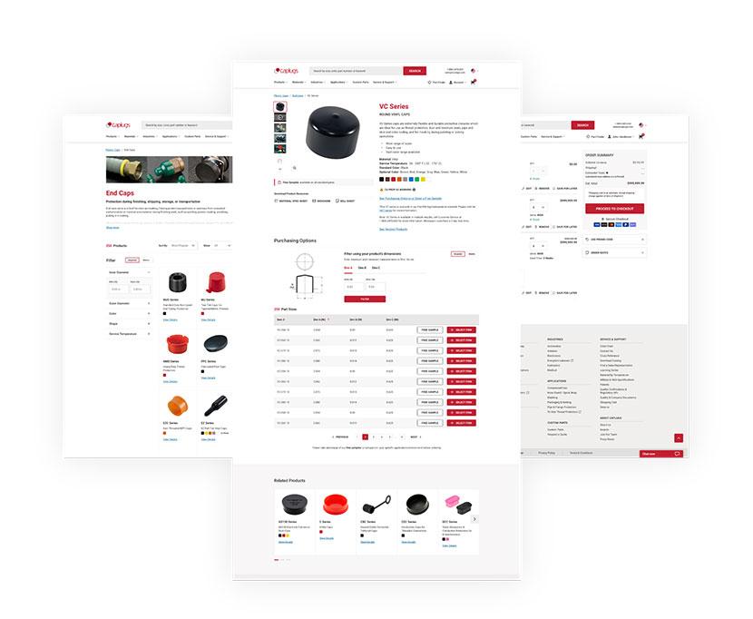 Caplugs design and copy