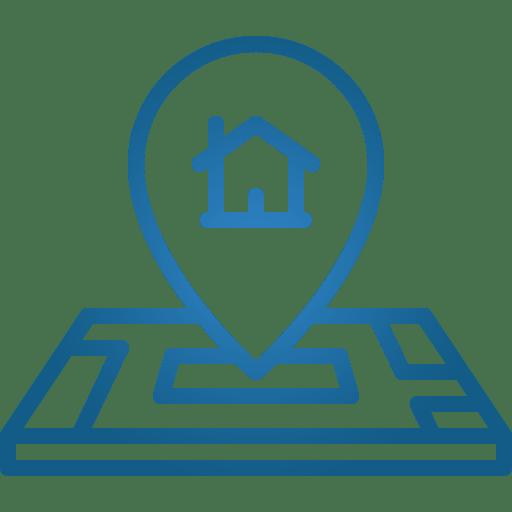 Blue Location Marker