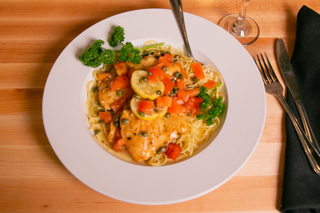 Classic Italian dishes