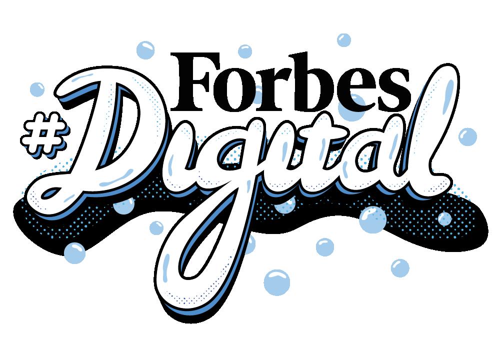 Forbes Digital Sticker