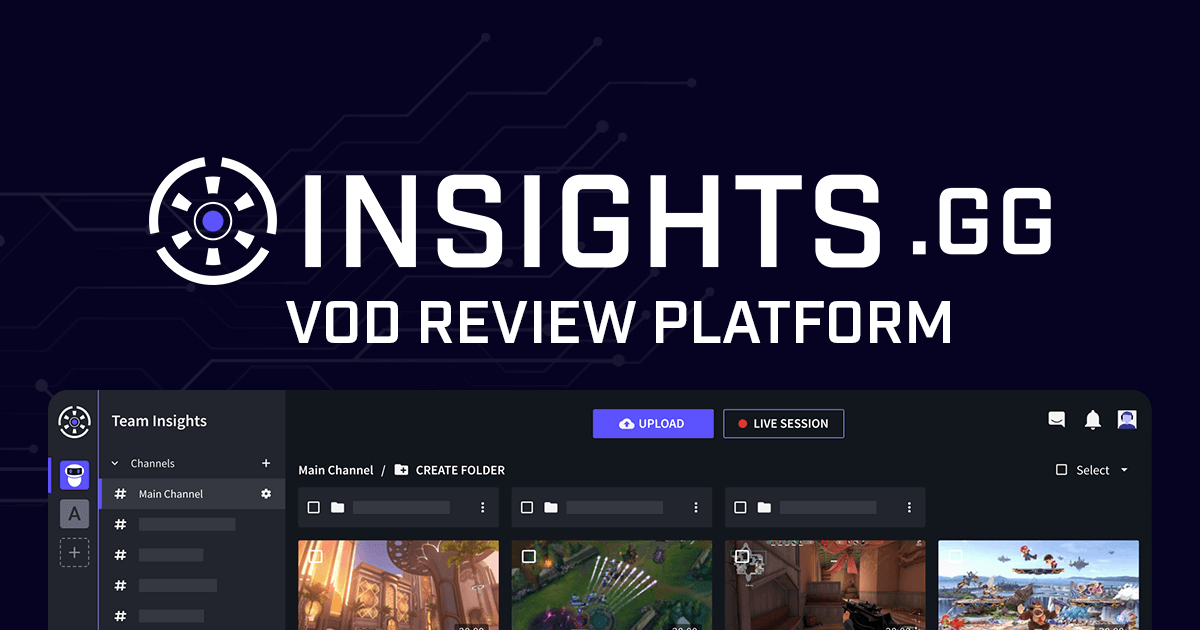 Insights.gg - Collaboration hub for game reviews and coaching