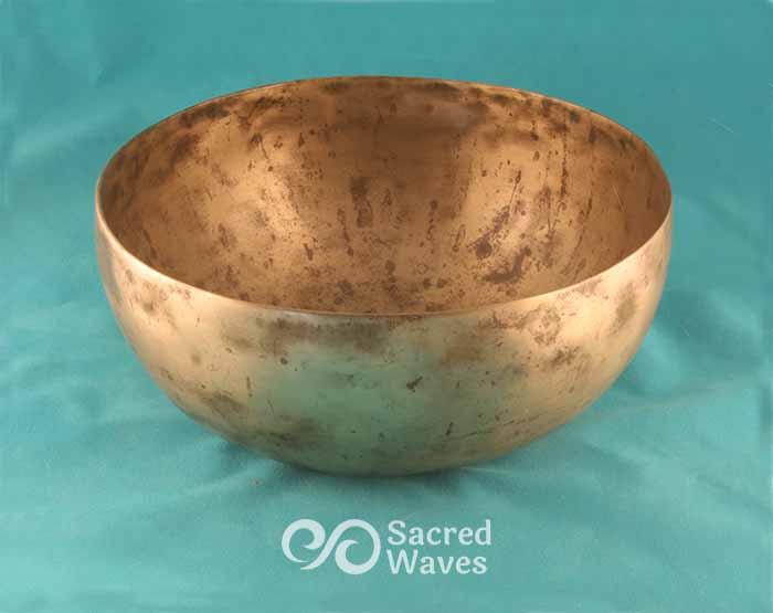 """7 1/2"""" Thin Walled Tibetan Singing Bowl"""